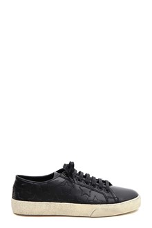SAINT LAURENT Wolly soft sneakers with stars