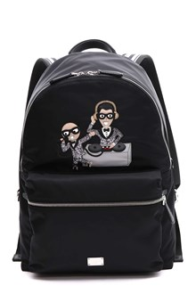 DOLCE E GABBANA Backpack with designers patch