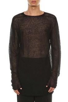 RICK OWENS Mohair sweater