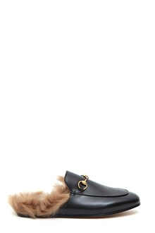 GUCCI Leather 'Princetown' slipper