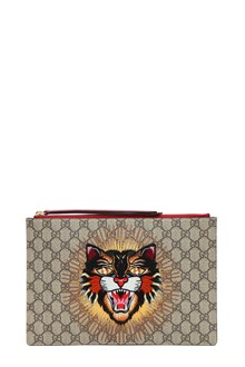 GUCCI Angry Cat pouch