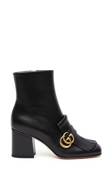 GUCCI 'GG Marmont' leather ankle boots