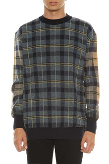 STELLA MCCARTNEY Check wool sweater