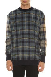 STELLA MCCARTNEY Check wool sweater