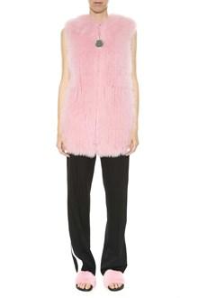 GIVENCHY Fox fur vest