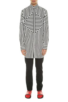 GIVENCHY Striped oversized shirt