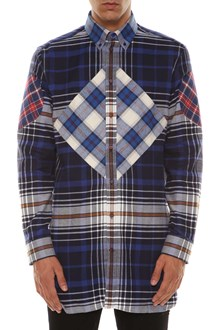GIVENCHY Checked flannel shirt
