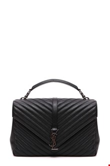 SAINT LAURENT 'College Monogram' large crossbody bag