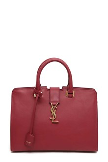 SAINT LAURENT Small monogram Cabas handbag