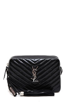 SAINT LAURENT Medium 'Lou' satchel matelassè
