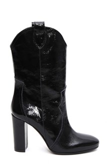 PARIS TEXAS Patent leather boots