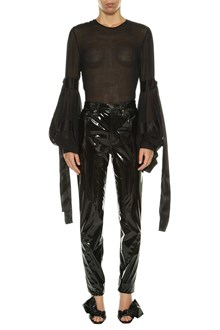 SAINT LAURENT Blouse with balloon sleeves