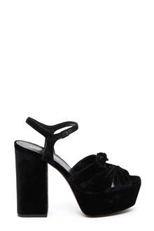 SAINT LAURENT Farrah bow sandal