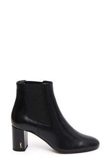 SAINT LAURENT Ankle bootie with elastic insert