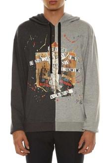 VALENTINO Printed bicolor sweatshirt