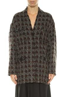ISABEL MARANT Tweed oversized jacket