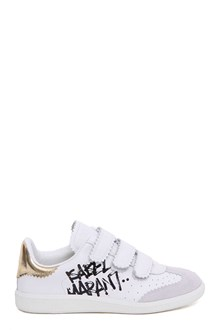 ISABEL MARANT Leather and suede 'Beth' sneakers