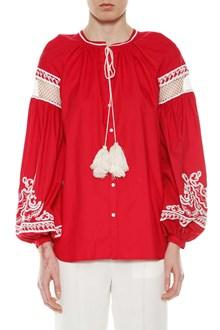 WANDERING Emboridered cotton shirt