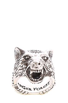 GUCCI 'Anger Forest' silver ring