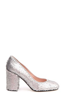 POLLINI Sequinned pumps