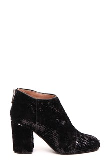 POLLINI Sequins ankle boots