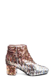 POLLINI Sequinned ankle boots