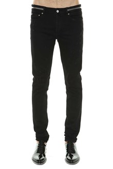 GIVENCHY Jeans with zipper at waist