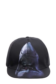 GIVENCHY Cap with shark print