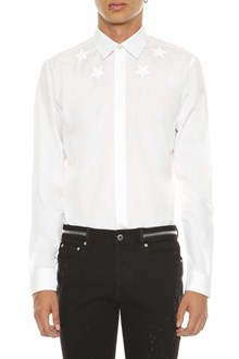 GIVENCHY White shirt with stars