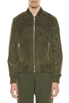 MICHAEL MICHAEL KORS Bomber jacket with flower embroideries