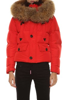 DSQUARED2 Down jacket with fur