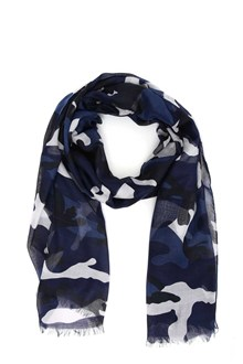 VALENTINO Camouflage printed stole