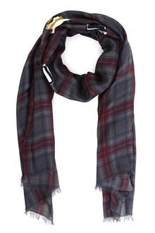 VALENTINO Checked scarf