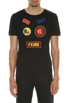 FENDI T-shirt with patches