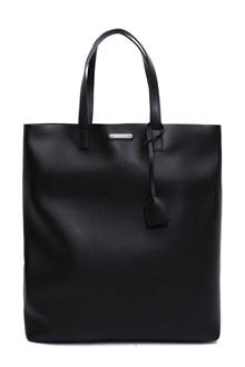 SAINT LAURENT Calfskin tote bag