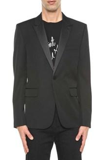 SAINT LAURENT Single breasted jacket