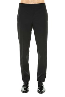SAINT LAURENT Suit pant with satin band