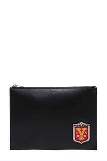 SAINT LAURENT ysl i pad rider with multi patch