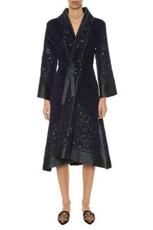 ALBERTA FERRETTI Embroidere long coat