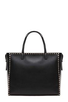 VALENTINO GARAVANI A.A. Studs shopping bag