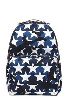 VALENTINO GARAVANI Stars printed backpack