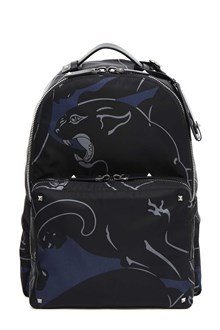 VALENTINO GARAVANI Printed canvas backpack