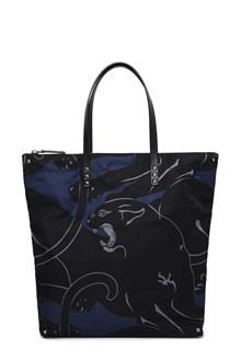VALENTINO GARAVANI Panther printed shopper