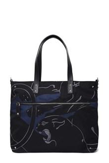 VALENTINO GARAVANI Shopper with panther print