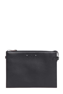 VALENTINO GARAVANI Leather flat pouch