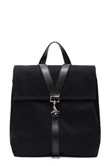 VALENTINO GARAVANI Leather cross laces backpack