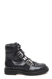 JIMMY CHOO 'Breeze Flat' biker boots