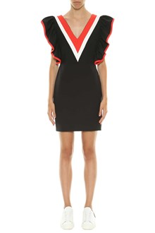 MSGM Short dress with frills