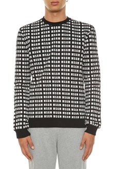 MSGM Sweatshirt with allover print
