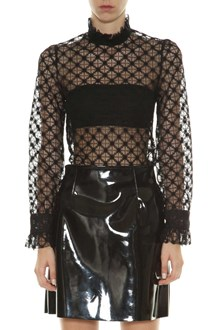 PHILOSOPHY di LORENZO SERAFINI See-through lace blouse